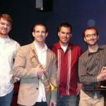 Square Peg from L to R: Me, Kevin Whalen, Shilo Stroman, Matt Smiley