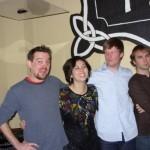 My awesome rock band circa 2010. L to R: Me, Kelsey Shiba, Matt Coyle, Matt Smiley.