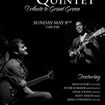 Poster from my Grant Green Tribute concert at Dazzle!