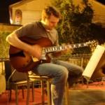 Outdoor jazz gig