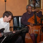 With bassist Walter Savage